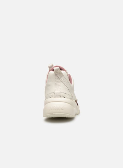 Trainers ARKK COPENHAGEN Asymtrix Mesh F White view from the right