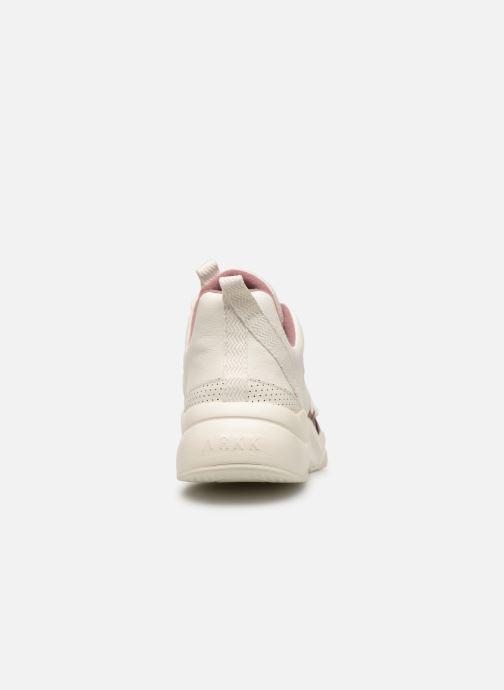 Sneakers ARKK COPENHAGEN Asymtrix Mesh F Wit rechts