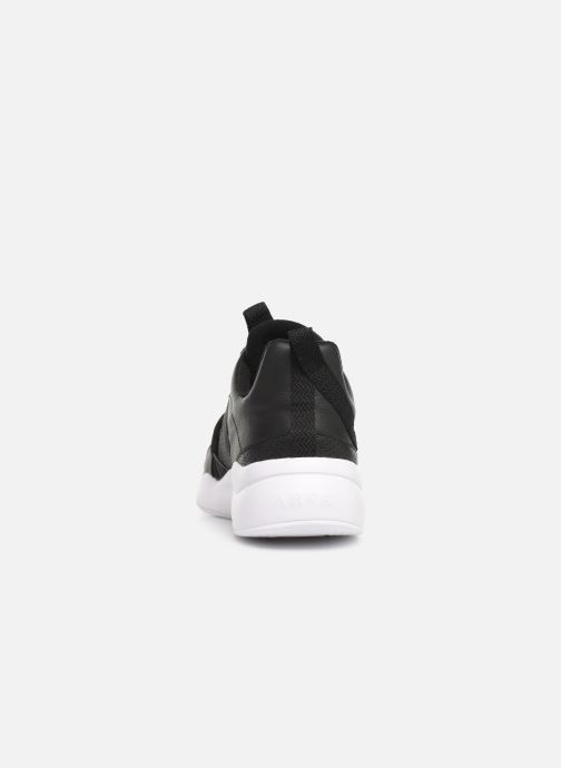 Trainers ARKK COPENHAGEN Asymtrix Mesh F Black view from the right