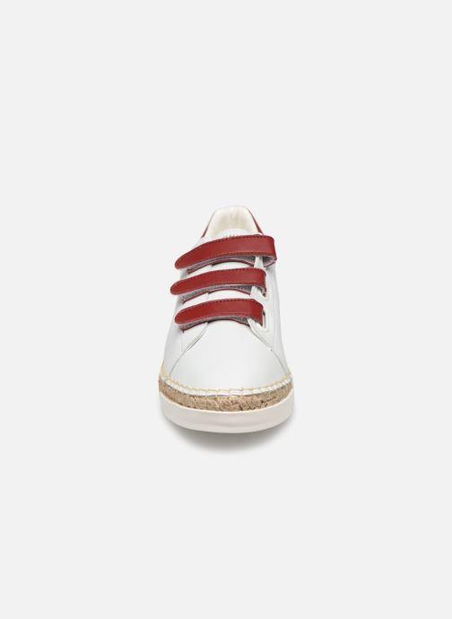 Baskets Canal St Martin WONDER PURE Blanc vue portées chaussures