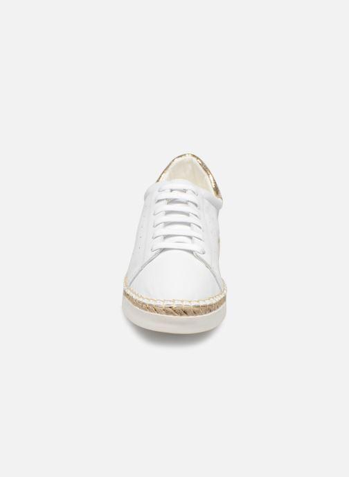 Baskets Canal St Martin LANCRY PE19 Blanc vue portées chaussures