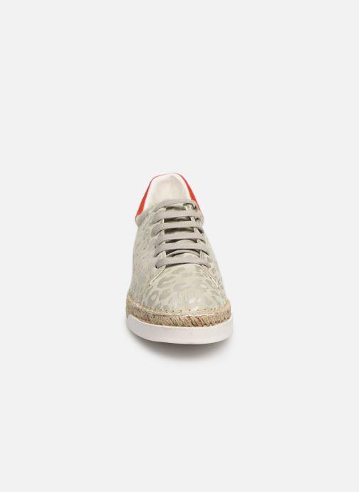 Baskets Canal St Martin LANCRY PE19 Gris vue portées chaussures