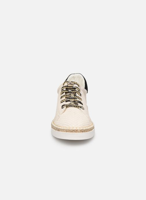 Trainers Canal St Martin LANCRY PE19 Beige model view
