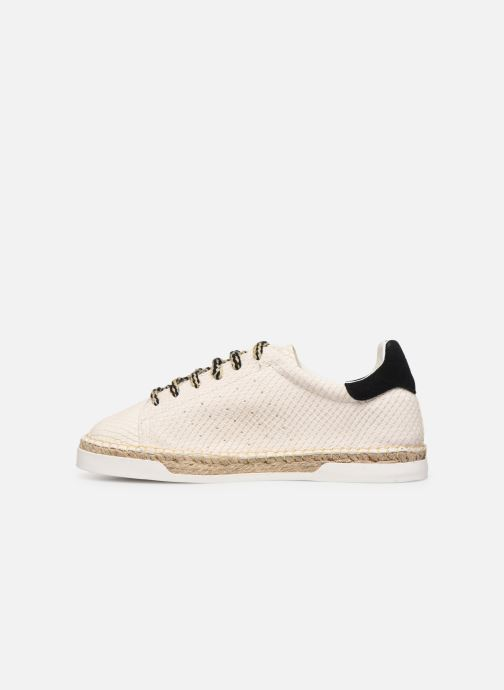 Trainers Canal St Martin LANCRY PE19 Beige front view