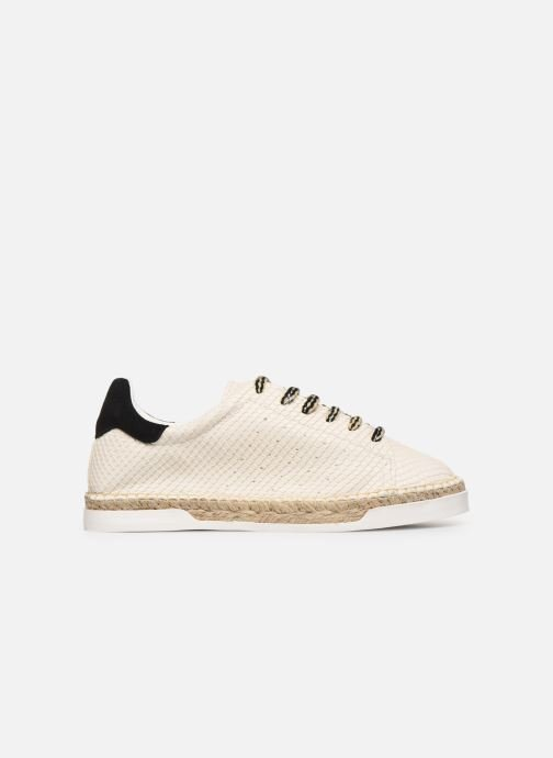 Trainers Canal St Martin LANCRY PE19 Beige back view