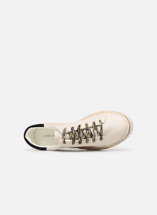 Sneakers Canal St Martin LANCRY PE19 Beige immagine sinistra