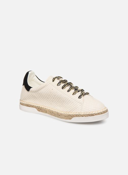 Trainers Canal St Martin LANCRY PE19 Beige detailed view/ Pair view