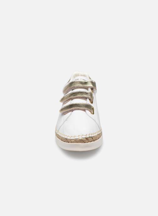Baskets Canal St Martin WONDER Blanc vue portées chaussures
