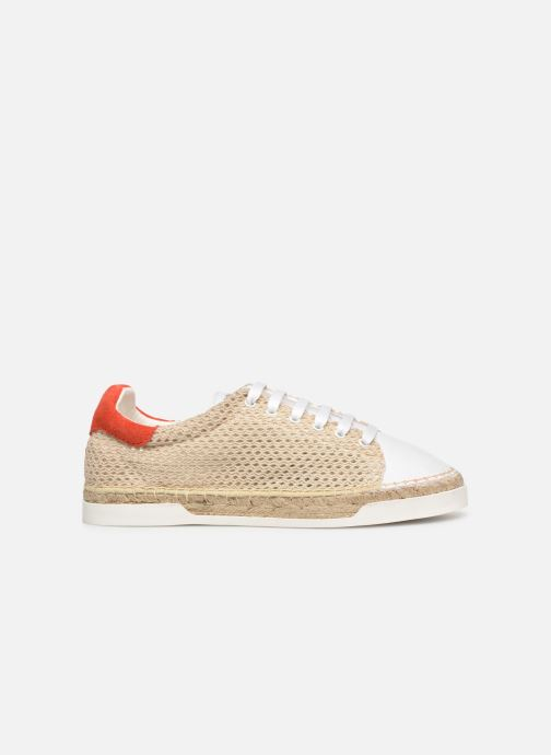 Trainers Canal St Martin LANCRY BEACH Beige back view