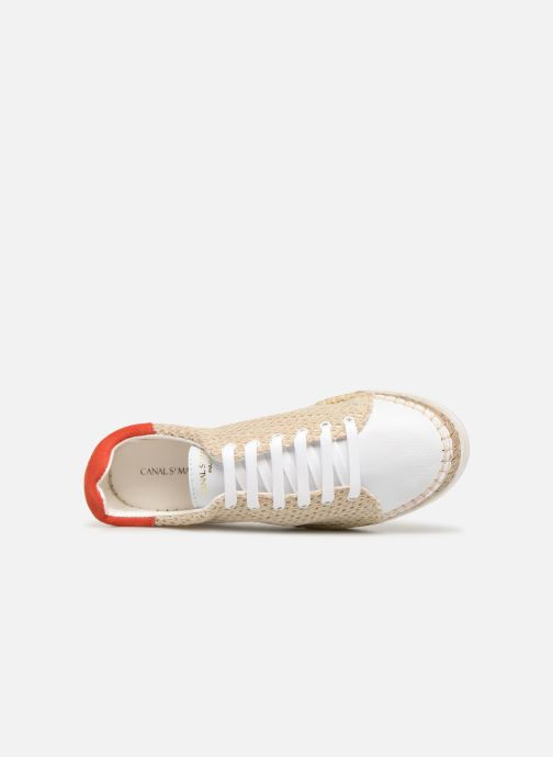 Sneakers Canal St Martin LANCRY BEACH Beige immagine sinistra