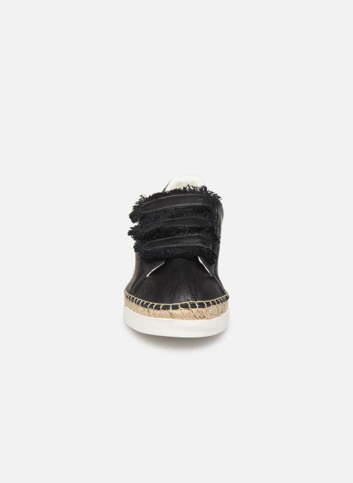 Baskets Canal St Martin WONDER PATTY Noir vue portées chaussures