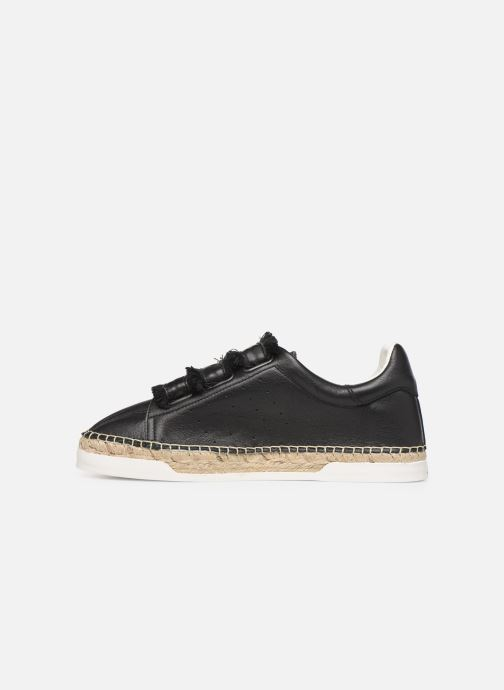 Sneakers Canal St Martin WONDER PATTY Nero immagine frontale