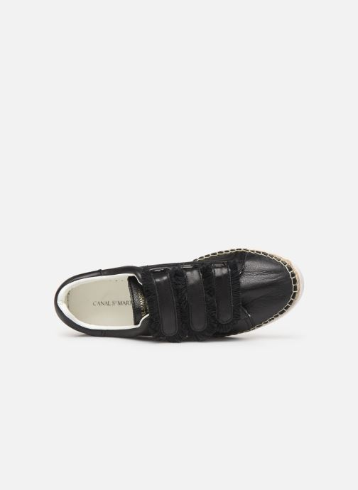 Sneakers Canal St Martin WONDER PATTY Nero immagine sinistra