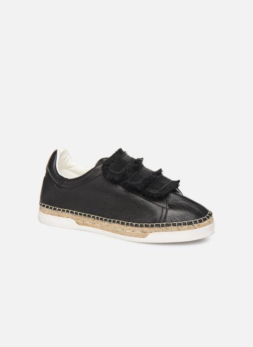 Sneakers Canal St Martin WONDER PATTY Sort detaljeret billede af skoene
