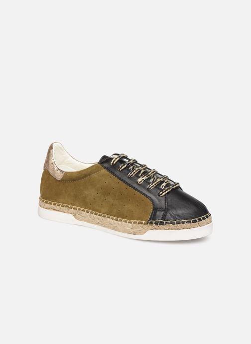 Sneakers Canal St Martin LANCRY SAFARI Grøn detaljeret billede af skoene