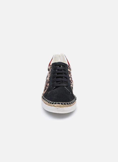 Baskets Canal St Martin LANCRY SAFARI Multicolore vue portées chaussures