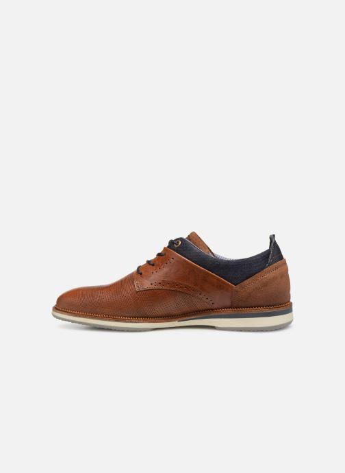 Chaussures à lacets Bullboxer 633K25264G Marron vue face