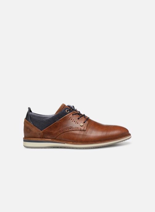 Lace-up shoes Bullboxer 633K25264G Brown back view