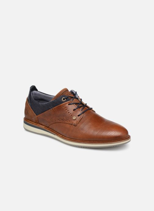 Lace-up shoes Bullboxer 633K25264G Brown detailed view/ Pair view