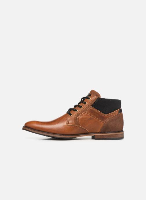 Boots en enkellaarsjes Bullboxer 634K50041A Bruin voorkant