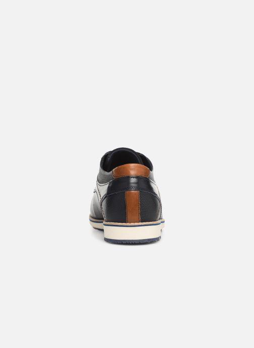Zapatos con cordones Bullboxer 649K26705A Azul vista lateral derecha
