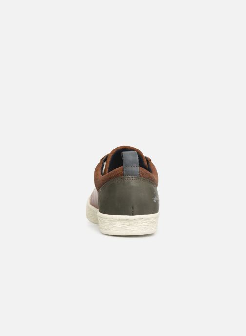 Trainers Bullboxer 648K26898A Brown view from the right