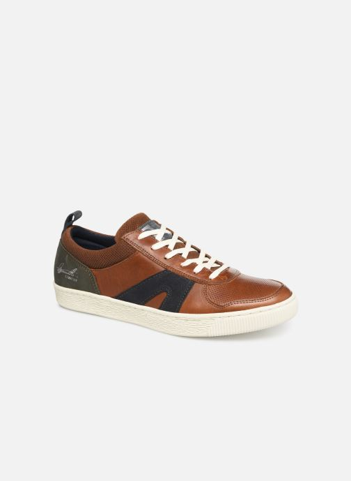 Trainers Bullboxer 648K26898A Brown detailed view/ Pair view