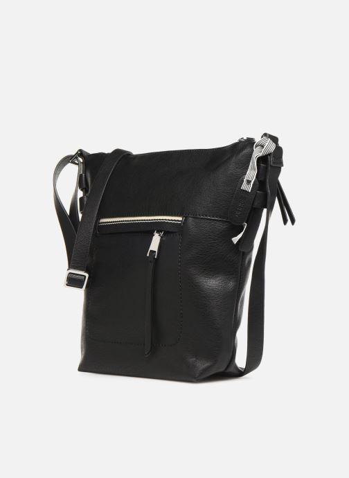 Handtaschen Esprit Mara Crossbody schwarz schuhe getragen