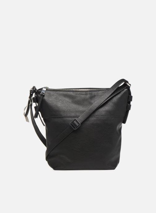 Handtaschen Esprit Mara Crossbody schwarz ansicht von vorne