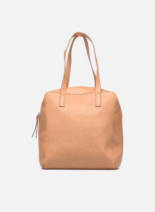 Handtaschen Esprit Marcie Shopper braun ansicht von vorne