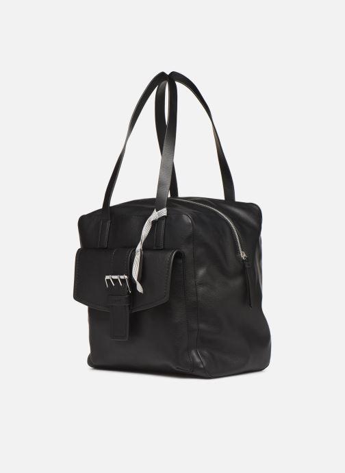 Handtaschen Esprit Marcie Shopper schwarz schuhe getragen
