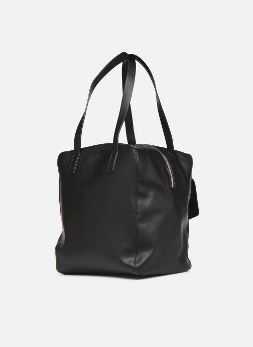 Handtaschen Esprit Marcie Shopper schwarz ansicht von rechts