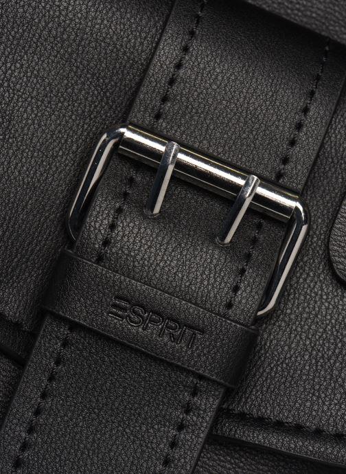 Handtaschen Esprit Marcie Shopper schwarz ansicht von links