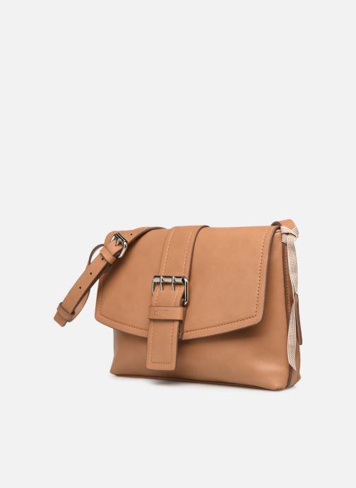 Bolsos de mano Esprit Marcie Shoulder bag Marrón vista del modelo