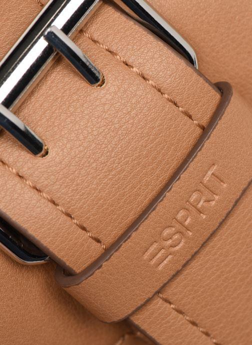 Bolsos de mano Esprit Marcie Shoulder bag Marrón vista lateral izquierda
