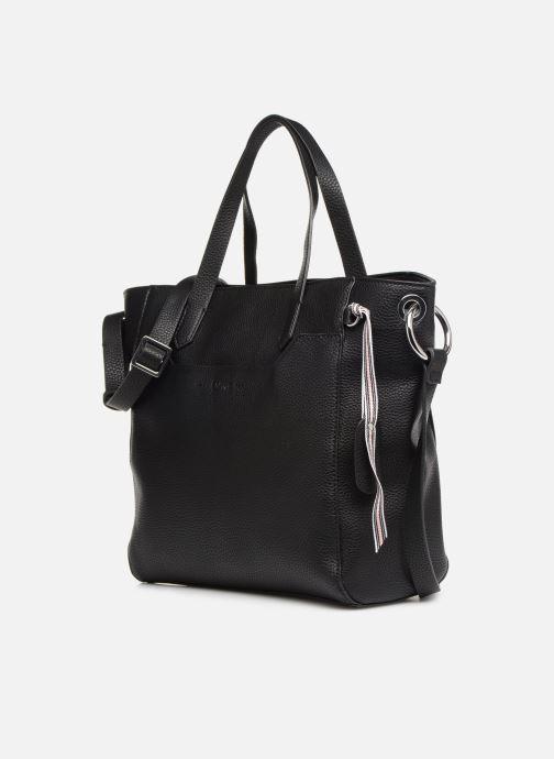 Sacs à main Esprit Mila City Bag Noir vue portées chaussures