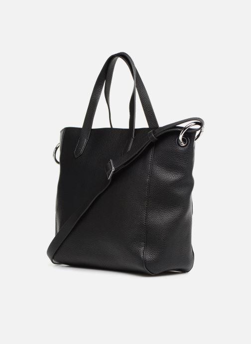 Handväskor Esprit Mila City Bag Svart Bild från höger sidan
