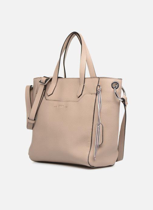 Bolsos de mano Esprit Mila City Bag Beige vista del modelo
