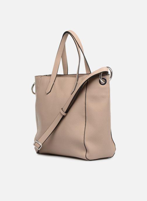 Bolsos de mano Esprit Mila City Bag Beige vista lateral derecha
