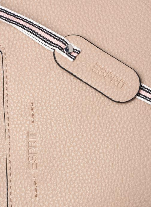 Bolsos de mano Esprit Mila City Bag Beige vista lateral izquierda