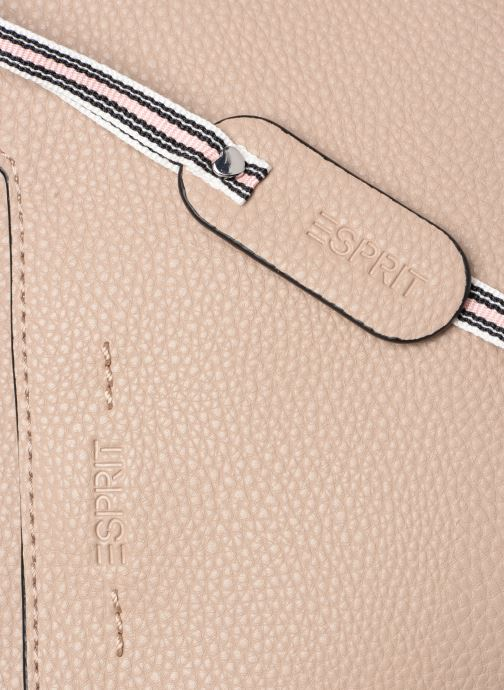Handtassen Esprit Mila City Bag Beige links