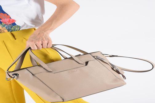 Sacs à main Esprit Mila City Bag Beige vue bas / vue portée sac