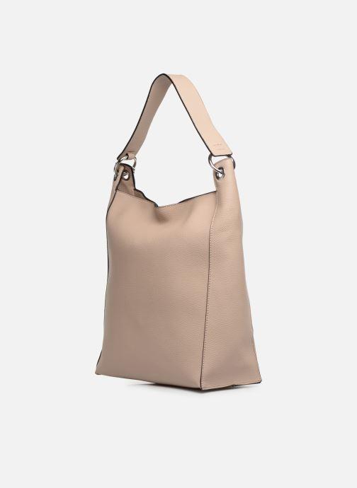 Handtaschen Esprit Mila Hobo beige ansicht von rechts