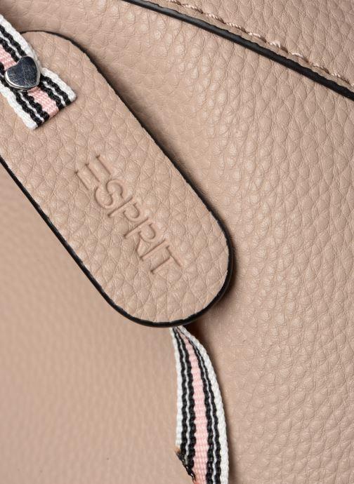 Handtaschen Esprit Mila Hobo beige ansicht von links