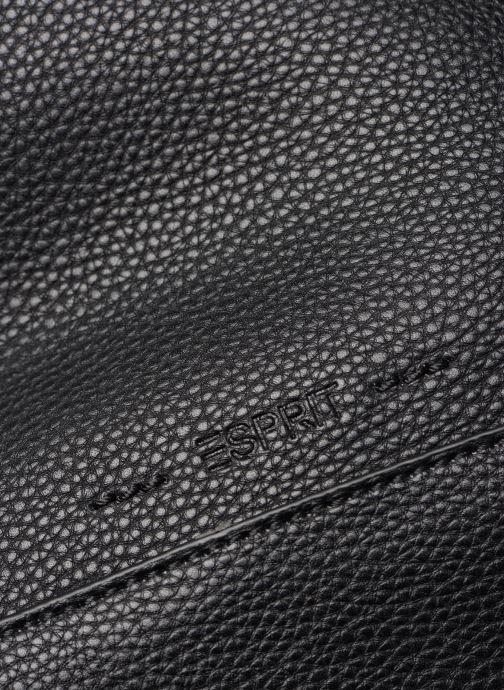 Handtaschen Esprit Mila Hobo schwarz ansicht von links