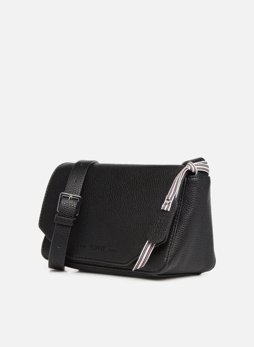 Sacs à main Esprit Mila Shoulder Bag Noir vue portées chaussures