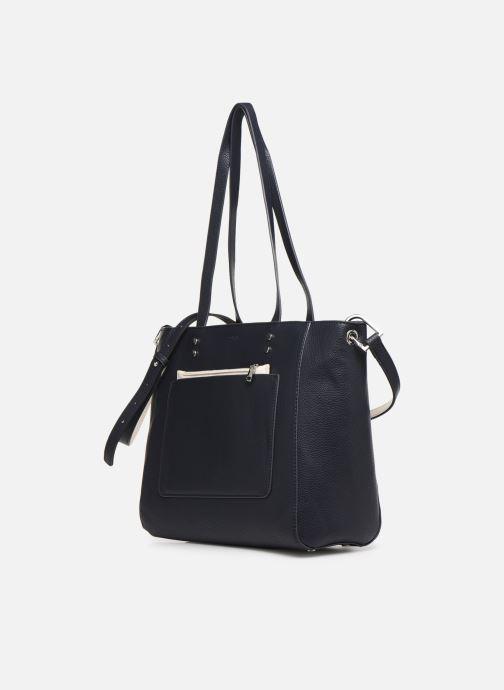 Bolsos de mano Esprit Mary Shopper Azul vista del modelo