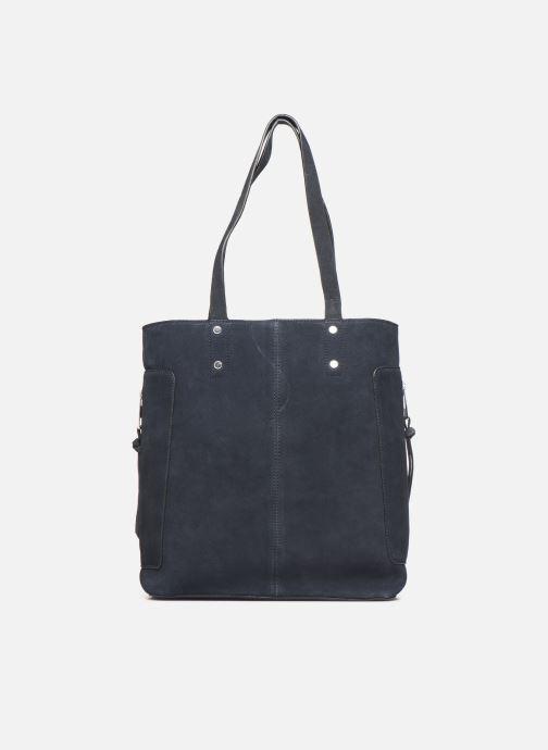 Handtassen Esprit Pia Cuir Shopper Blauw voorkant