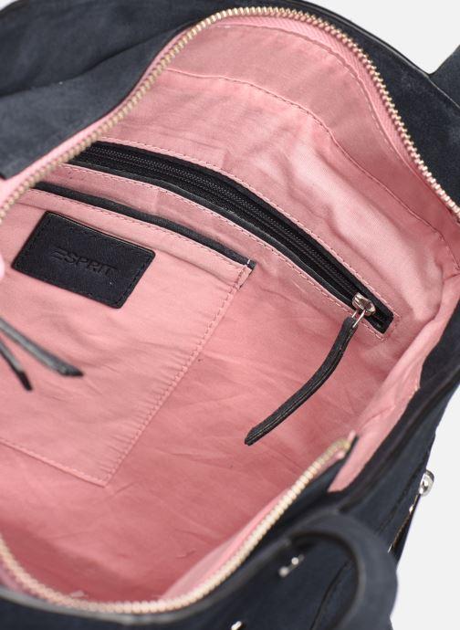 Handtassen Esprit Pia Cuir Shopper Blauw achterkant
