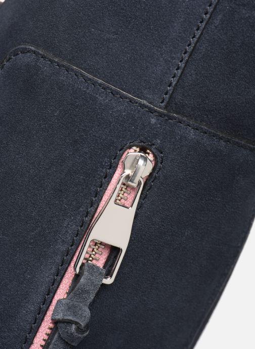 Handtassen Esprit Pia Cuir Shopper Blauw links
